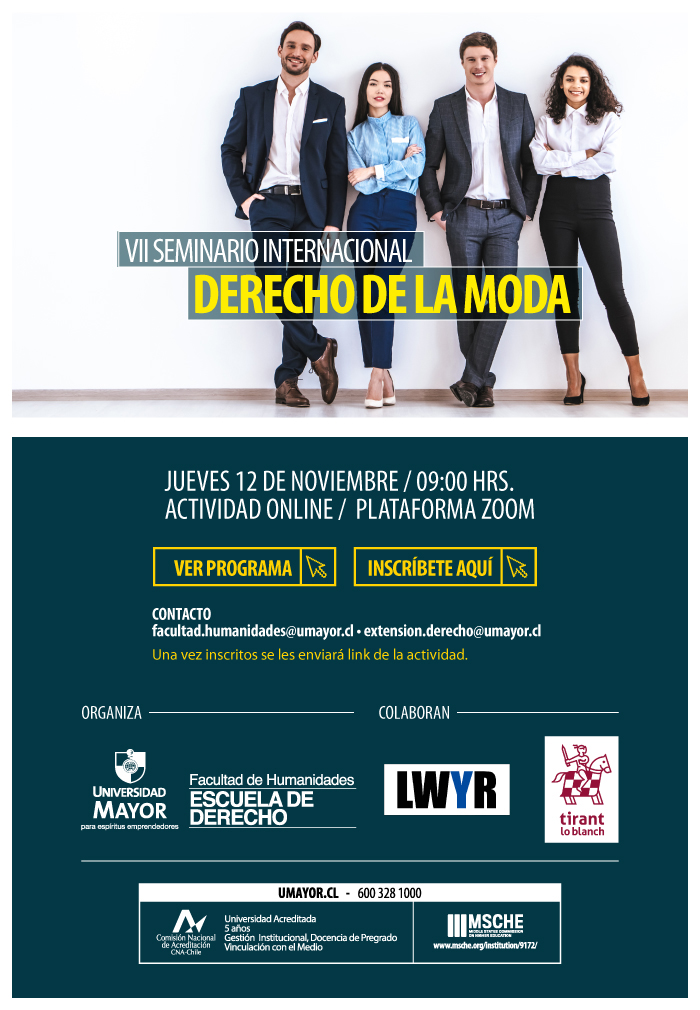 VII Seminario Internacional de Derecho de la Moda.