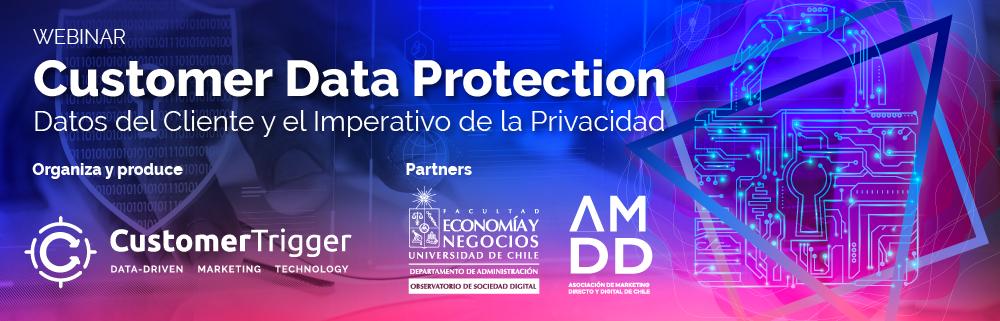 Webinar abordará la relevancia de la privacidad en acciones de marketing y ventas: se conversará con los senadores Felipe Harboe y Kenneth Pugh.