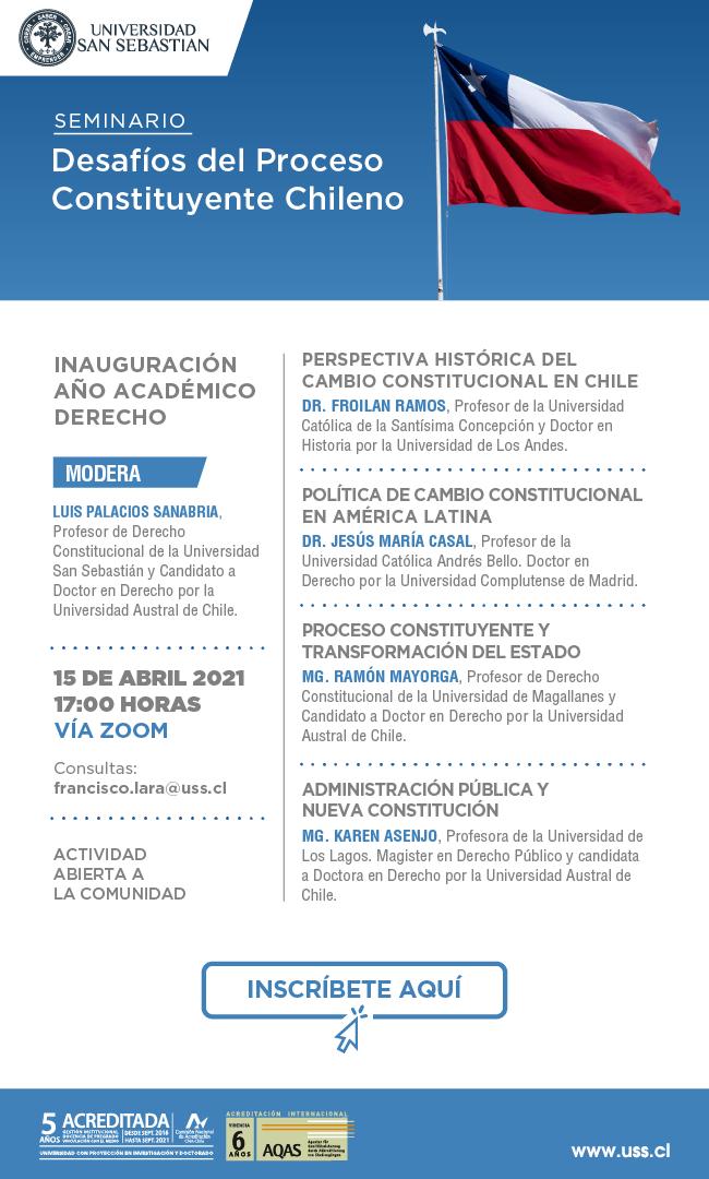Seminario: Desafíos del Proceso Constituyente Chileno.