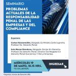 Seminario Problemas de Responsabilidad Penal de las Empresas y el Compliance