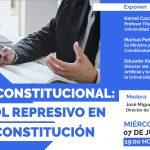 Tribunal Constitucional: El control represivo en la nueva Constitución.
