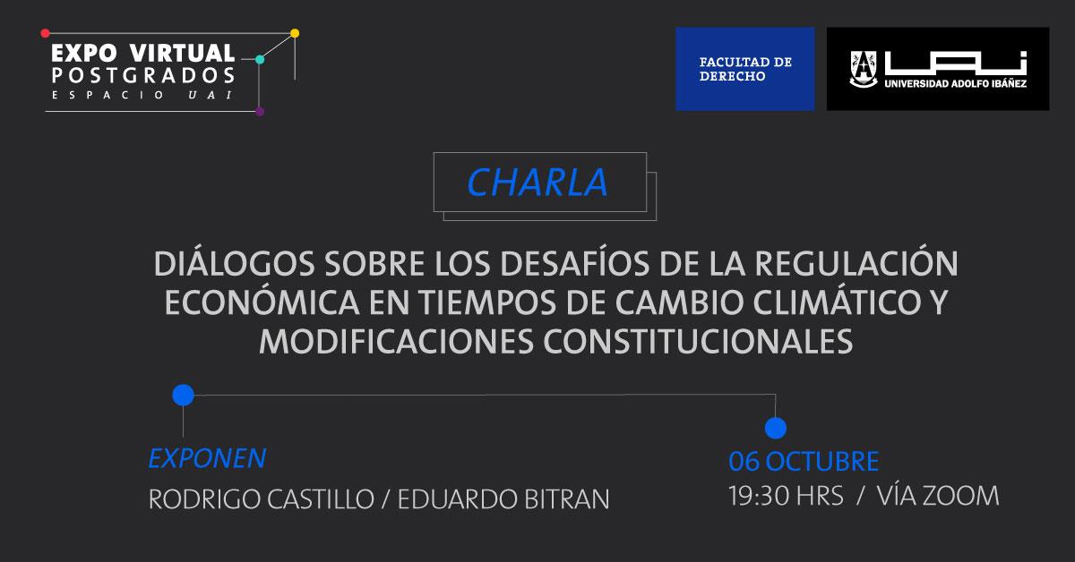 Desafíos de la regulación económica en tiempos de cambio climático y modificaciones constitucionales.
